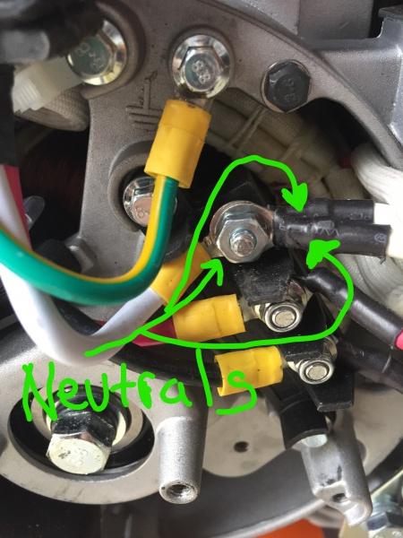 Generac Neutral Bond To Manual Transfer Switch Help