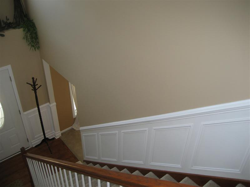 ... Picture Molding Wainscot In Foyer And Stairway Img_5097 Medium  ...
