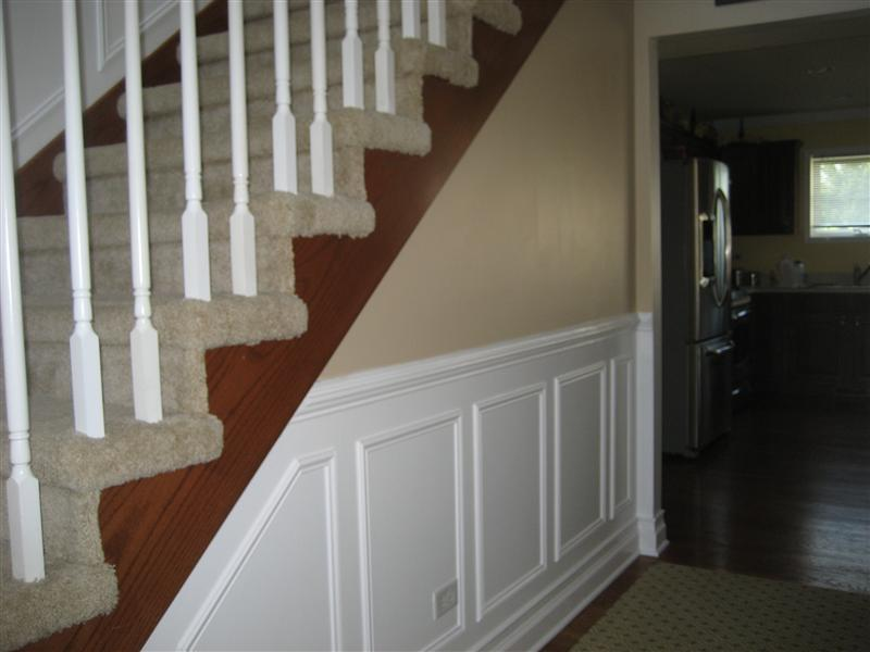 ... Picture Molding Wainscot In Foyer And Stairway Img_5099 Medium  ...