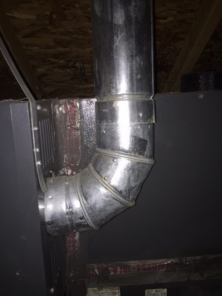 Do You Seal The Gas Furnace Vent Pipe Hvac Diy