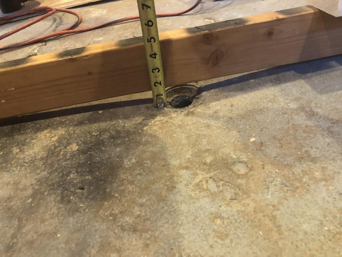 Floor Joists Over Concrete Slab Building Amp Construction