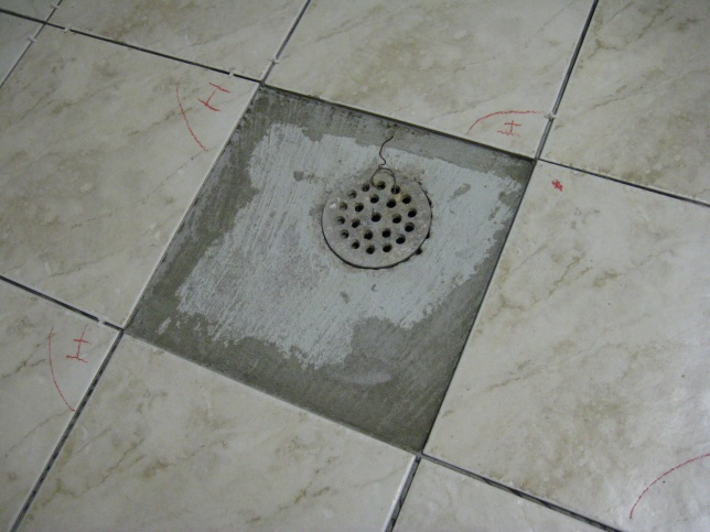 How To Finish Tile Floor Around Drain Hole Tiling Ceramics - Ceramic tile places near me