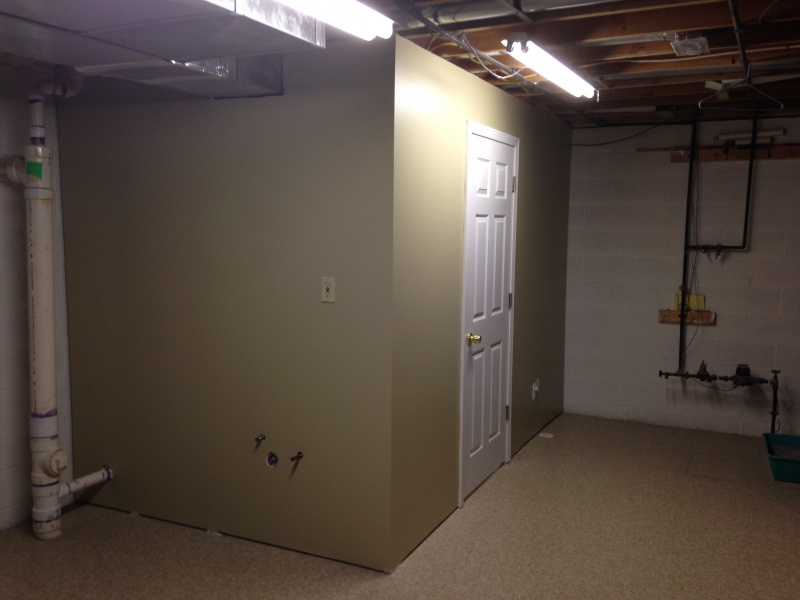 basement bathroom use shower vent for toilet plumbing diy home