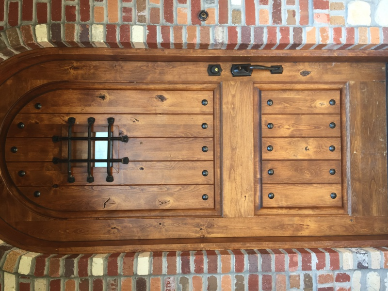 Suggestions for Refinishing this Knotty Alder Door-img_5509.jpg ... & Suggestions For Refinishing This Knotty Alder Door - Painting - DIY ...