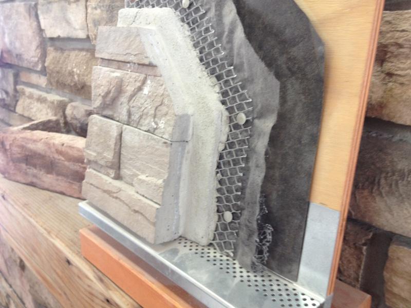 Sill Overhang For Stone Veneer Concrete Stone Amp Masonry
