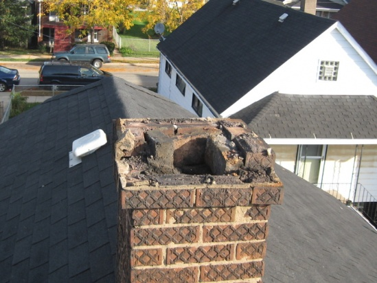 Brick Work To Repair A Chimney Building Amp Construction