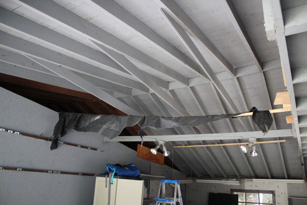 Rebuilding A Garage Roof Rafter Vs Truss Building