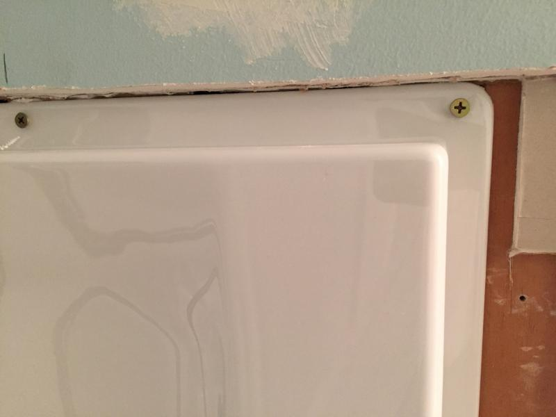 Drywall Around Tub Surround - Round Designs