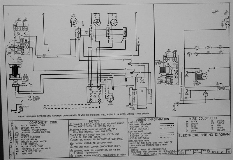 202681d1444172912 air handler wont stop running help please img_5823 air handler won't stop running, help please!!! hvac diy ruud air handler wiring diagram at webbmarketing.co