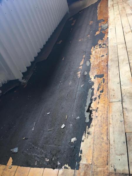Black Residue Flooring Diy Chatroom Home Improvement Forum