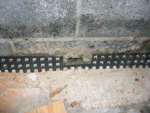 Basement Sump Pump & Dimpled Plastic Membrane Interior Questions-img_5947.jpg