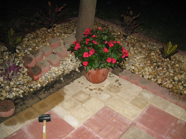 Brickface Patio Paver W Pics Landscaping Amp Lawn Care