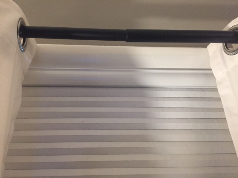Help With Sagging Drape Rod And Supporting The Middle