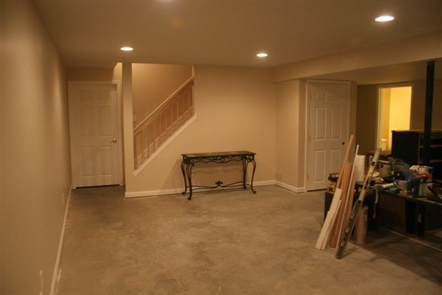 my basement project project showcase diy chatroom home rh diychatroom com Sign My Basement Finished Basement