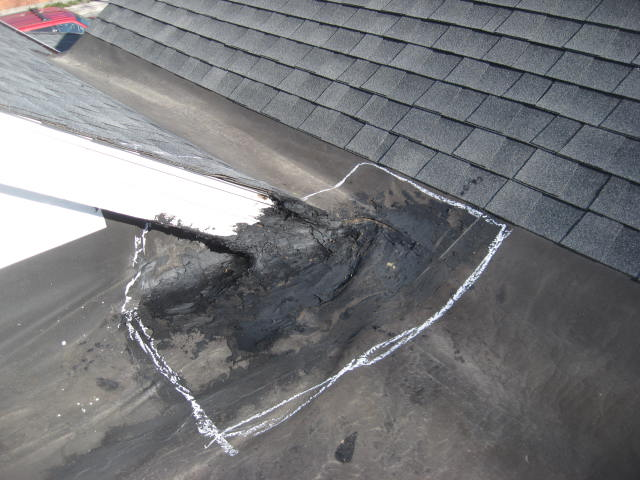 Leaking Flat Roof Roofing Siding Diy Home Improvement