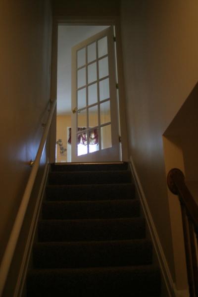 code for interior basement door swing? - windows and doors - diy