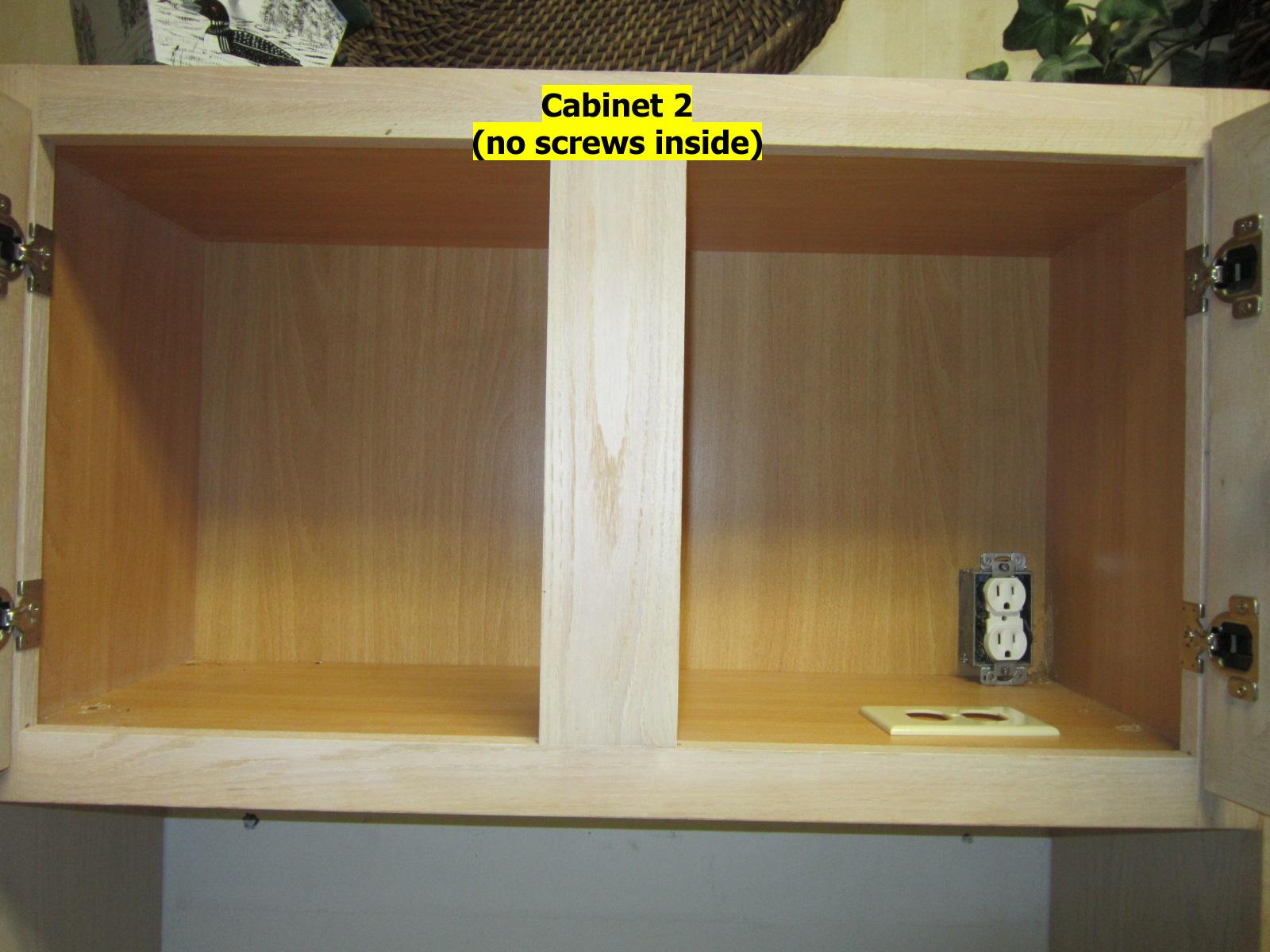 Cabinet Installation - How Many Screws? - Carpentry - DIY ...