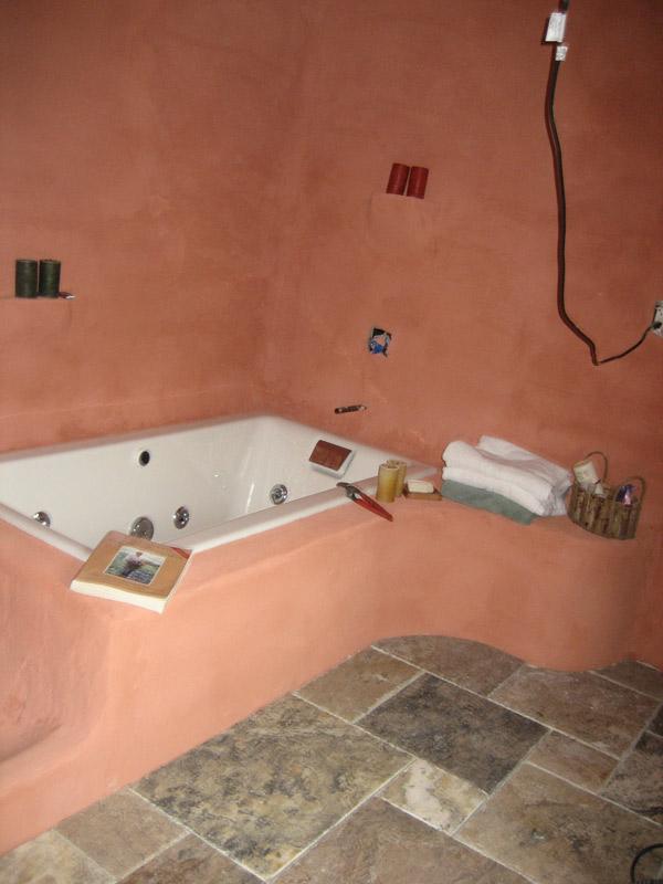 How To Waterproof Stucco In Bathroom Shower General Diy