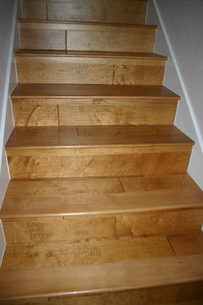 Wood Stairs Without A Skirt, Thoughts? Img_7108