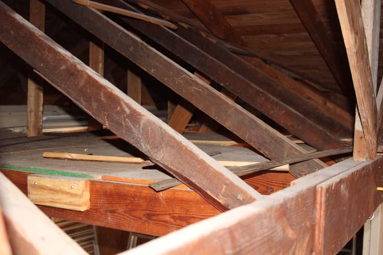 Sagging Garage Ceiling Joist Building