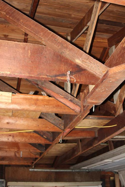 Sagging Garage Ceiling Joist Building Amp Construction