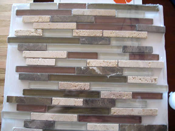 Tile Over Painted Textured Drywall Tiling ceramics marble DIY