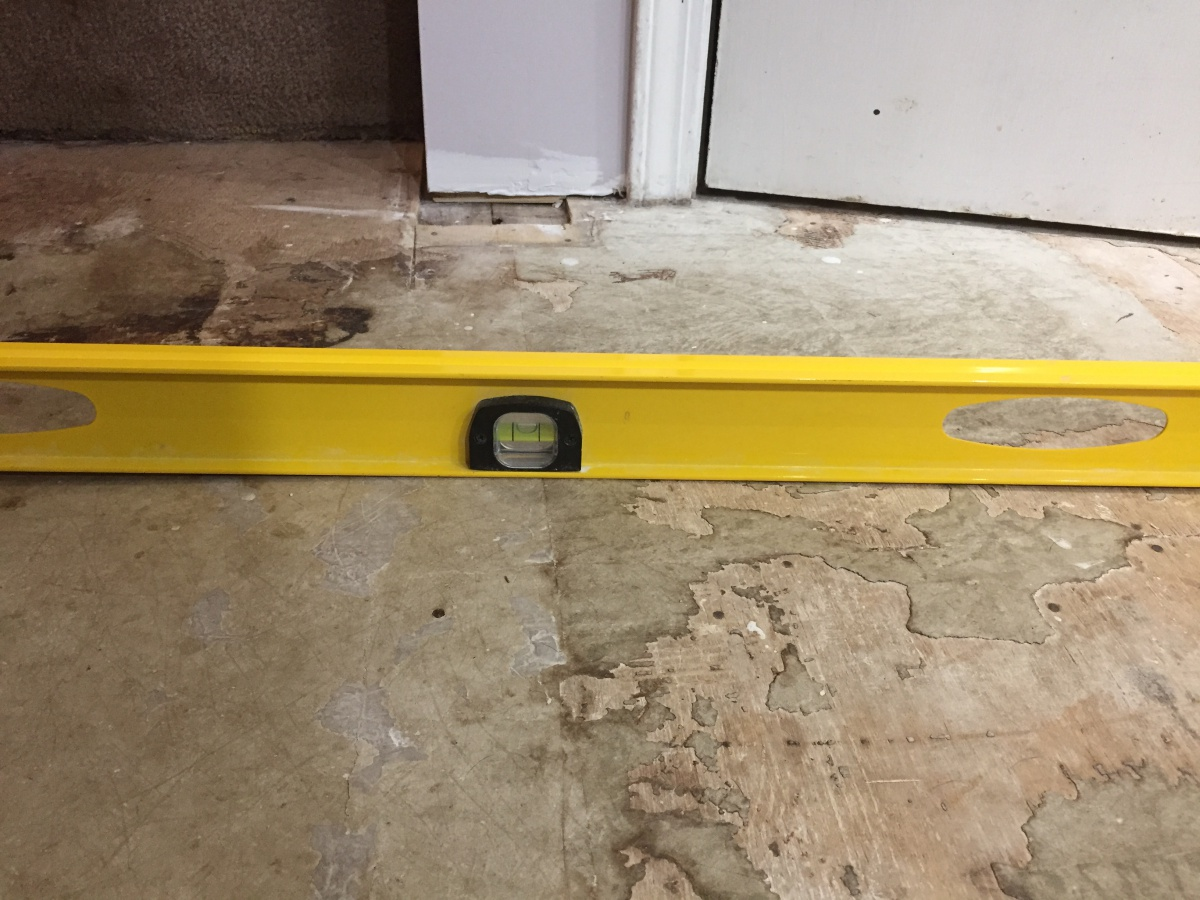 Self Leveling Compound With A Floating Floor - Flooring - DIY