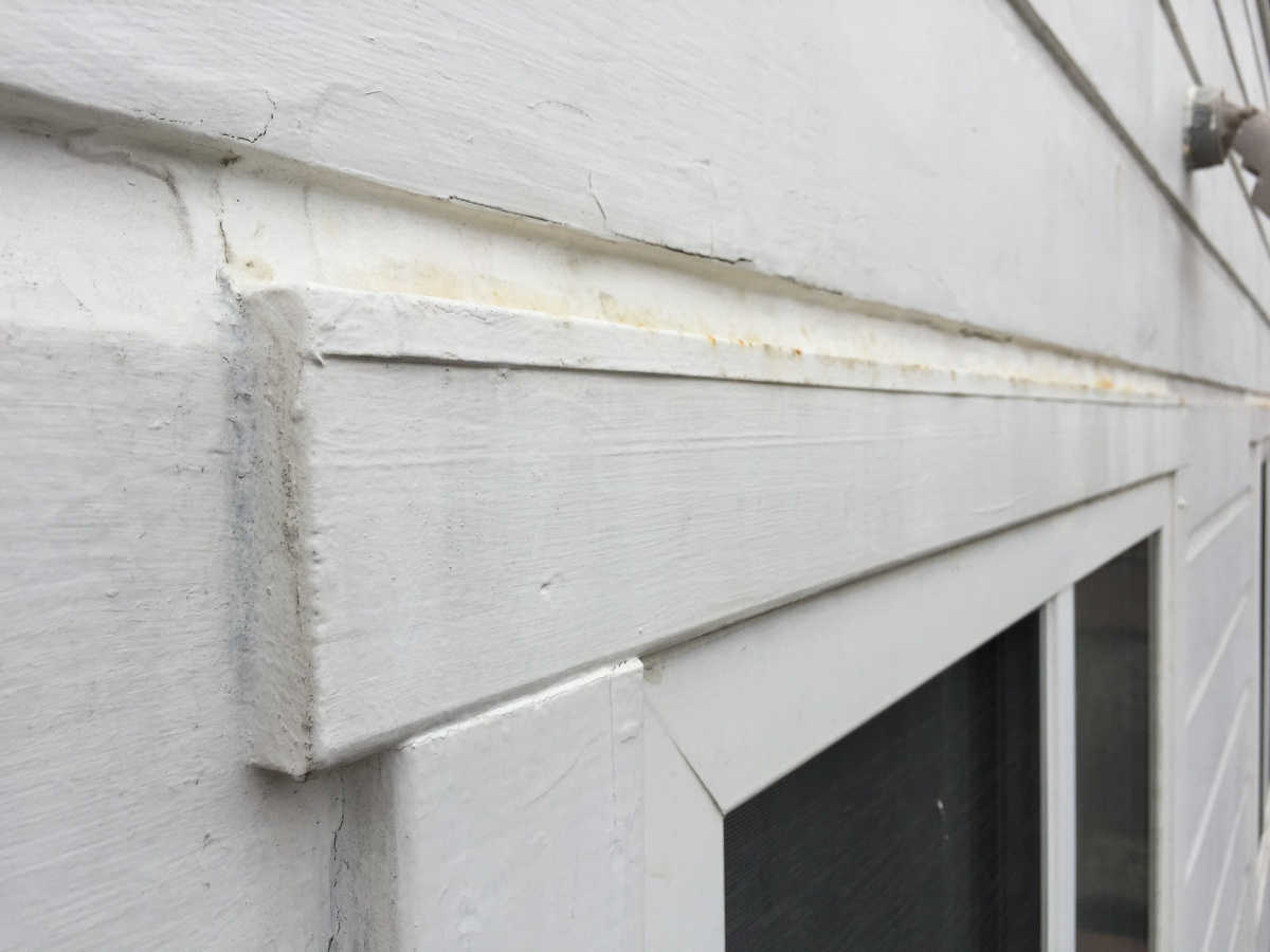 Replace Window Drip Cap Z Flashing On Wooden Siding