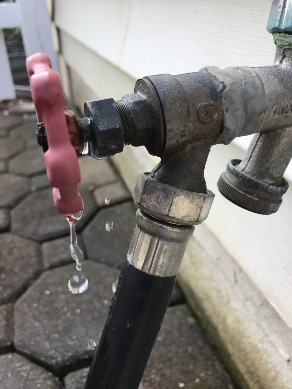 Spigot Leaking From Knob