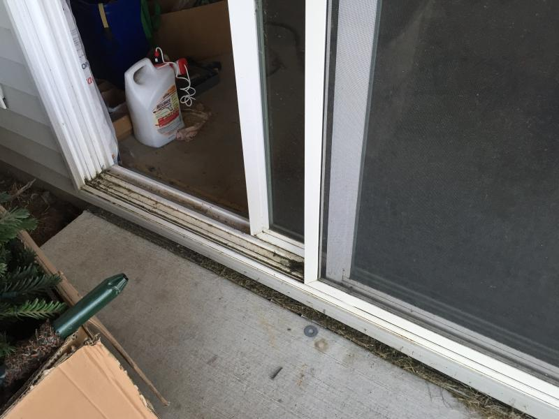 Replacing Sliding Door Sill Pan Needed Windows And