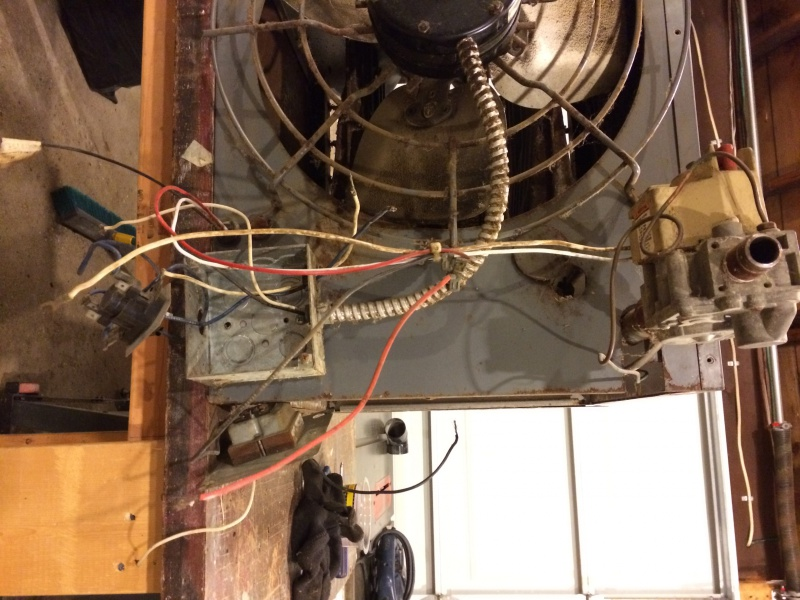 Dayton Unit Heater Wiring HVAC DIY Chatroom Home