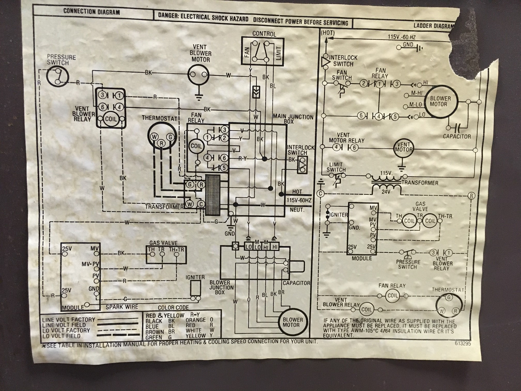[SCHEMATICS_48IS]  Old Sears Power Miser 80 Furnace Fan Won't Turn On When Set To
