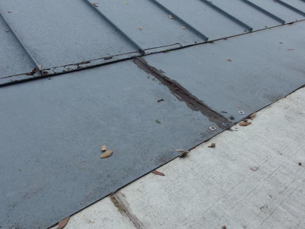 Retaping Aluminum Sunroom Roofing Siding Diy Home