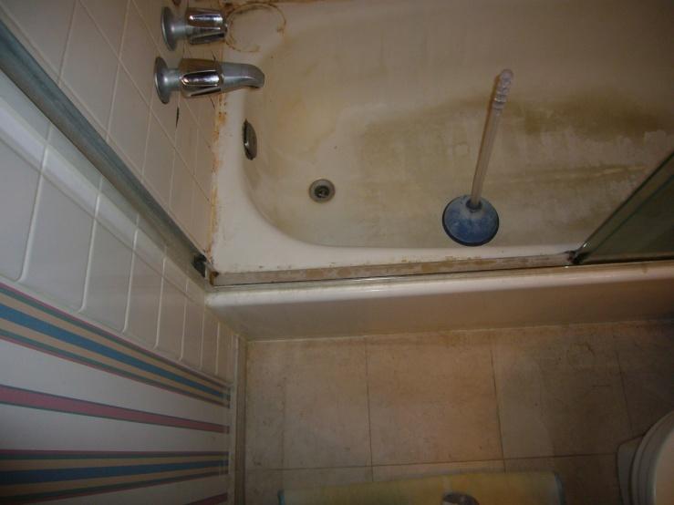 Condo Master Bathroom Reno (demo, Bathtub To Shower Conversion ...