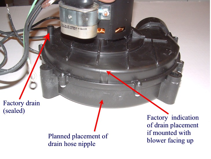 lennox inducer motor. inducer installation / modification-inducer-drain-placement.jpg lennox motor