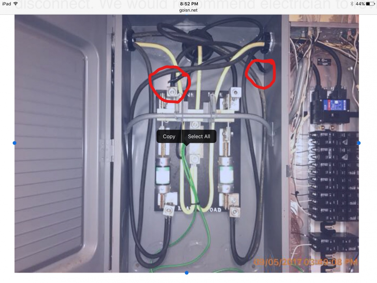 FPE Service Disconnect-service Two New 200 AMP Subs - Electrical ...