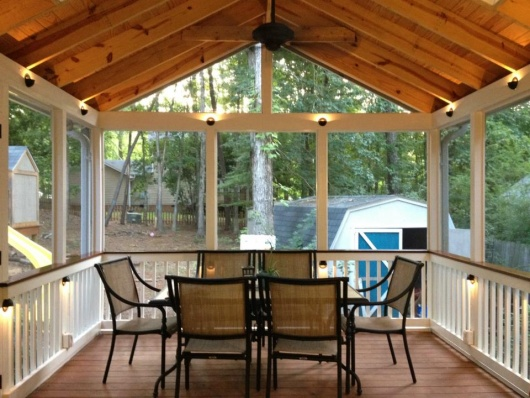 Screened Porch Project Project Showcase Diy Chatroom