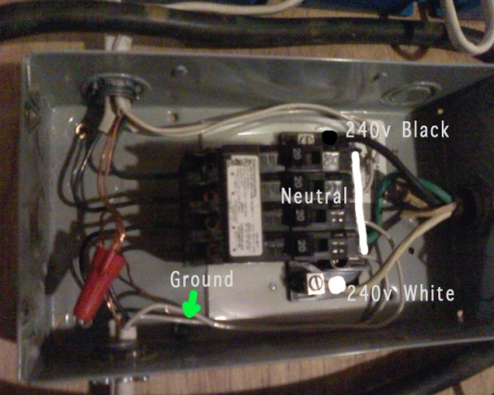 240v to subpanel with 4x 120v circuits electrical diy