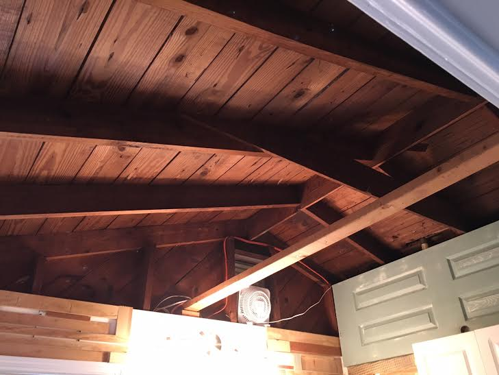 Need Help Converted Garage Exposed Rafters Insulation
