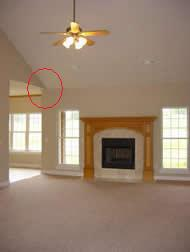Vaulted Ceiling Crown Molding With Adjacent Room - Carpentry - DIY ...