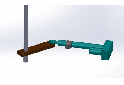 Actuator Mounting - Linear Actuator For Horizontal Axis-isometric.jpg