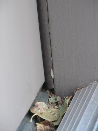 ... How To Fix Uneven Gap Between Door And Weatherstripping? Jamb Side  Bottom ...