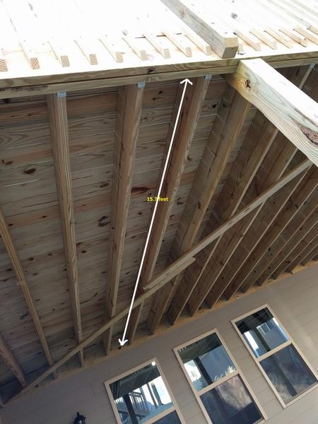 County Failed My 32 X 16 Deck Inspection Building