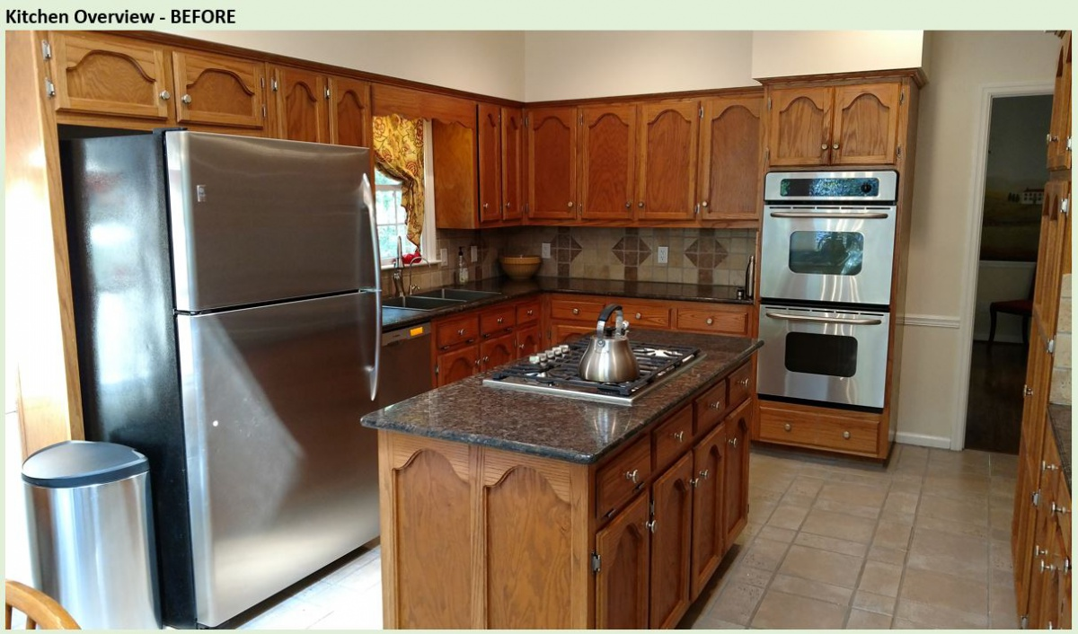 Restaining Oak Cabinets And Trim Painting Diy Chatroom