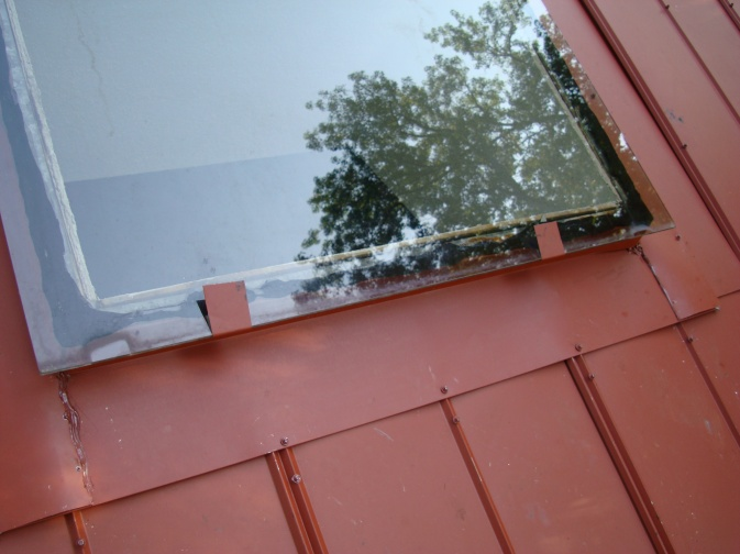 Metal Roof Skylights Kitchen Bottom