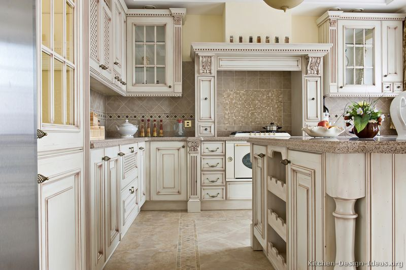 Flat Front Cabinet to Raised Detail Cabinet-kitchen-cabinets-traditional-antique-white-076-s39815584x2-luxury-wood-hood-island-splash.jpg