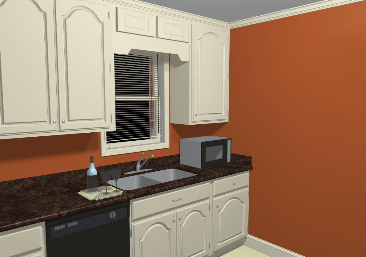 Chair rail kitchen - Which Comes First Painting Wall Or Trim Chair Rail