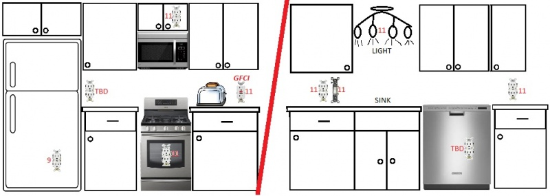 Kitchen Gfci Keeps Tripping Electrical Diy Chatroom Home Rh Diychatroom Wiring Dual Receptacles Diagram Receptacle Exles: Wiring Dual Receptacles Diagram At Sewuka.co