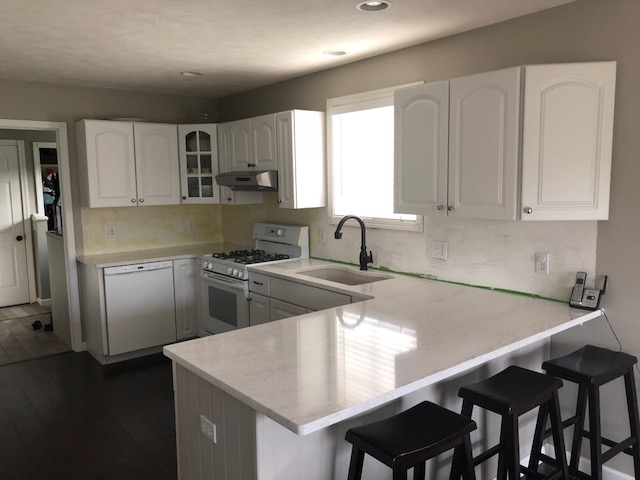 Subway Tile Kitchen Backsplash Terminating Ends Diy Home Improvement Forum