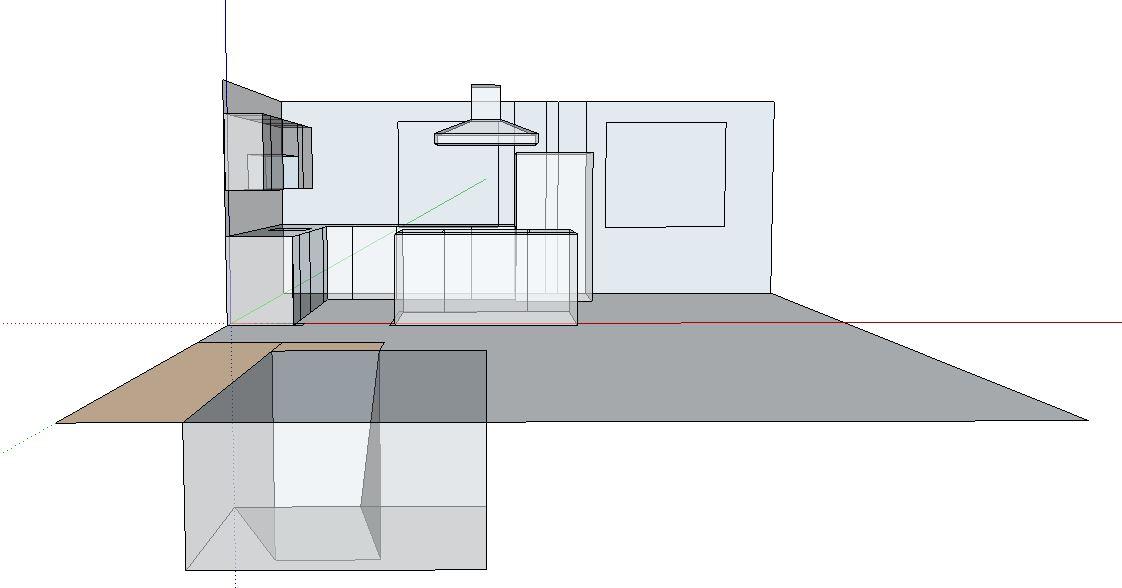 Remove kitchen walls below Fink truss attic, load bearing or not?-kitchen1.jpg
